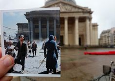 Guy Takes Assassin's Creed Game Photos To The Actual Locations