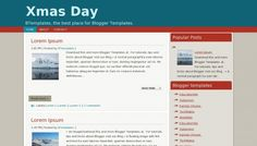 Xmas Day Blogger template » http://btemplates.com/9919