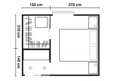 Missione cabina armadio: 5 progetti fai da te Master Room, Small Room Bedroom, Building Stairs, Floor Plan Layout, Funky Home Decor, Farmhouse Remodel, Bedroom Wardrobe, Bedroom Layouts, Storage Design