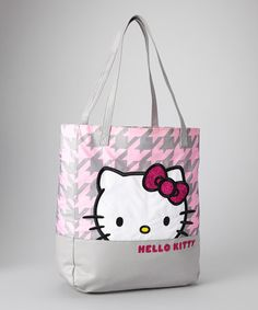 Take a look at this Kittystooth Hello Kitty Tote by Hello Kitty on  zulily  today 1f1c8756b6362