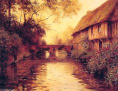 Louis Aston Knight    Houses by the River