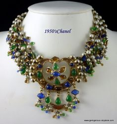 1950's Gripoix for Chanel Necklace