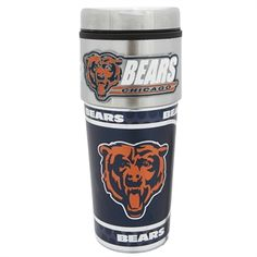 Great American Products Chicago Bears Travel Tumbler | from Von Maur #VonMaur #TeamApparel