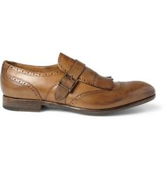 yves fringed monk strap brogues ++ paul smith