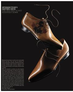 as featured in: Intersection - Issue 20 / Driving Shoe / Pg 46
