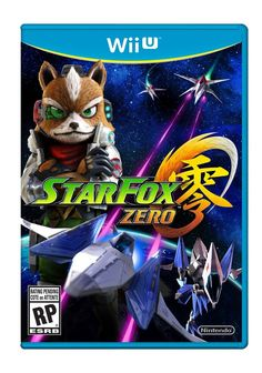 Buy Star Fox Zero on Wii U at Mighty Ape NZ. Fox, Falco, Peppy and Slippy save the Lylat system in this new deep space dogfighting adventure. Using the Wii U GamePad controller and the TV togethe. Nintendo 64, Nintendo Wii U Games, Playstation, Xbox, The Legend Of Zelda, Video Game Posters, Video Game Art, Donkey Kong, Metroid
