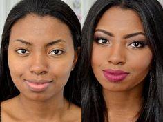 maquiagem para pele negra - dicas e truques - YouTube