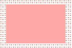 Fundo Corações – Kit Completo com molduras para convites, rótulos para guloseimas, lembrancinhas e imagens! |Fazendo a Nossa Festa