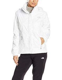 The North Face Womens Resolve Jacket TNF White XS * Want additional info? Click on the image.(This is an Amazon affiliate link)