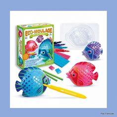 TWÓJ POMYSŁ NA PREZENT EKO-ODLEWY GIPSOWE POPSINE RYBKI, SENTOSPHERE Własnoręcznie wykonane odlewy rybek, kolorowe pisaki i figurki do zabawy gotowe! Zachwyci każdego miłośnika podwodnego świata.