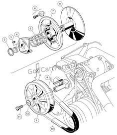 1997 club car gas ds or electric - club car parts & accessories