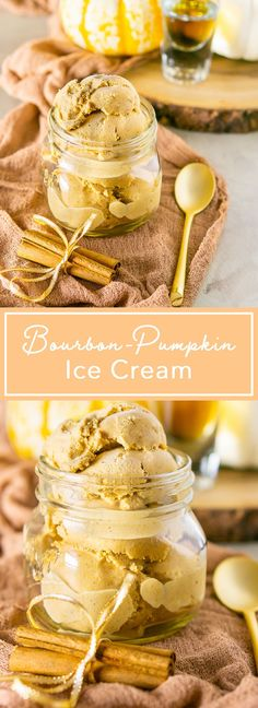 If you're looking for the best fall ice cream, this pumpkin ice cream recipe has covered. This bourbon pumpkin ice cream is full of those delicious, warm pumpkin pie spice flavors that we all love. Hands down, it's one of the best fall desserts! #pumpkinicecream #bestfalldesserts #pumpkinpiespice #falldesserts #bourbonpumpkin #bourbondesserts #icecreamrecipes #bourbonicecream #boozydesserts #thanksgivingrecipes #thanksgivingdessertideas Fall Desserts, Frozen Desserts, Frozen Treats, Custard Desserts, Birthday Desserts, Strawberry Desserts, Thanksgiving Recipes, Fall Recipes, Gelato
