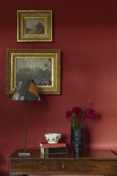 Living Room Red Paint Farrow Ball 28 Ideas For 2019 Farrow Ball, Farrow And Ball Paint, Living Room Red, Living Room Decor, Red Interiors, Colorful Interiors, Red Home Decor, Red Rooms, Red Dining Rooms