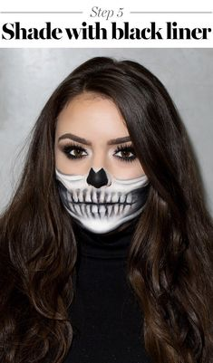 How to get skeleton makeup for Halloween 2017. With step-by-step instructions from Make Up For Ever director of education Lijha Stewart.