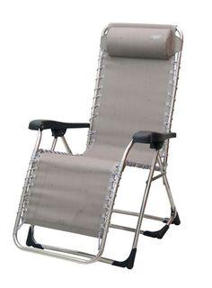 Crespo AL-343: Tumbona Gran Relax aluminio elástica 2 alturas, tejido multifibra.  Aluminium elastic Relax deckchair, two heights.