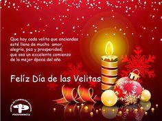 #FelizDiaDeLasVelitas #FelicesFiestas Feliz Dia De Las Velitas