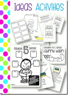 5 Senses: Journals, Activities, Fluency Passages, and Sight Words Readers for each of the 5 senses.