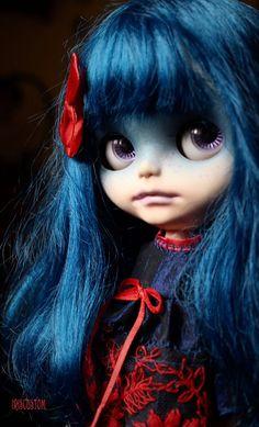 Ooak Custom Blythe Art Doll Neela by Iriscustom by aline8