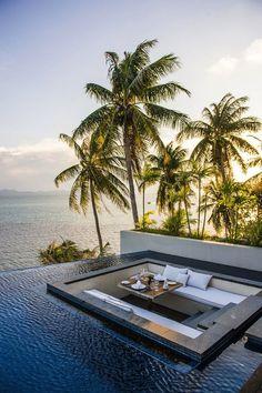Dreamy Oceanside Hotel In Thailand #travel #vacation #wanderlust