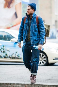 How many stars would you rate this look ? ⭐⭐⭐⭐⭐ Find looks, rate fashion and share your styles with the world on the Style Hipster, Style Casual, Swag Style, Men Casual, Denim Style, Style Streetwear, Streetwear Fashion, Denim Fashion, Street Fashion