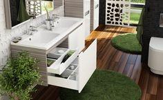 Ravak - Fürdőszoba szekrény mosdó alá SD 1300 Classic espress/fe, Modern - VS Fürdőszoba Szalon
