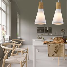 MAX60W Pendant Light Country Others Feature for Designers Wood/BambooLiving Room / Bedroom / Dining Room 5389559 2017 – $84.99