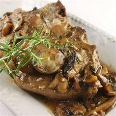 Veal Chop with Portabello Mushrooms - Allrecipes.com
