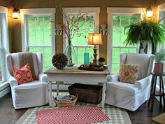 Cobblestone Farms: Sunroom, Oh Sunroom...looks so cozy!