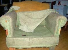 Retapizado de un sillón