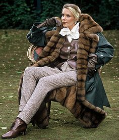 Samantha of Stoll 100 by Stollfan, via Flickr Tweed, Fur Coat, Clothes, Furs, Fashion, Fur, Leather, Outfit, Clothing