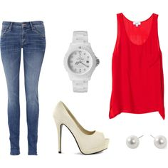 Simple homecoming outfit :)