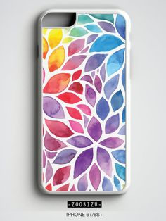 iPhone Floral Watercolor phone case for iPhone 4/4S, iPhone 5/5S/SE, iPhone 5C, iPhone 6/6S Hard, iPhone 6/6S Rubber, iPhone 6/6S Plus, Samsung Galaxy
