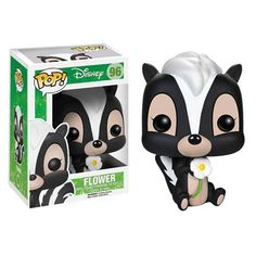 The skunk and best friend to Bambi from Disney's Bambi is now a vinyl figure! The Bambi Flower Pop! Vinyl Figure measures about 3 tall. A fun recreation. Disney Pop, Film Disney, Disney Pixar, Bambi Disney, Disney Gift, Disney Dolls, Figurine Pop Disney, Pop Figurine, Figurines Funko Pop