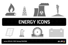 Energy Icons By ALS DESIGN