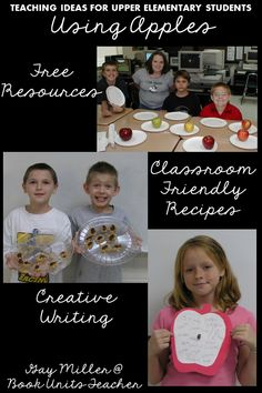 Teaching Upper Elementary Students with an Apple Theme Creative Teaching, Creative Writing, Teaching Ideas, Teaching Resources, Vocabulary Practice, Vocabulary Words, Apple Quotes, Apple Facts, Raisin Muffins