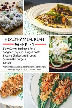 """""""If you fail to plan, you are planning to fail.""""Every week I like to share highlights form the Slender Kitchen meal plans. I believe meal…"""