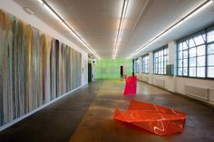 Art exhibition at the Mamco, Geneva's Musée d'art moderne et contemporain
