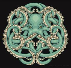 Octopus Celtic knot