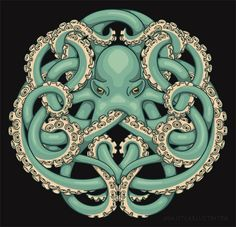 Octopus Celtic knot