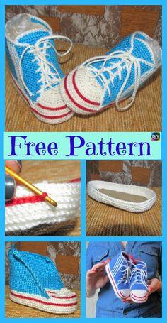 Super Knitting Socks For Beginners Tutorials Baby Booties Ideas Baby Booties Knitting Pattern, Animal Knitting Patterns, Baby Shoes Pattern, Knitting Socks, Baby Patterns, Easy Crochet Slippers, Crochet Baby Booties, Crochet Shark, Crochet Converse
