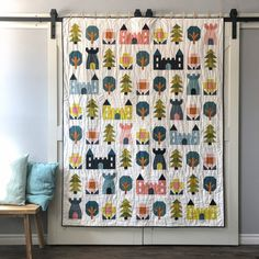 Little Kingdom - Anja's quilt Quilting Projects, Sewing Projects, Sewing Ideas, Quilting Ideas, Sewing Crafts, Art Projects, Pattern Blocks, Quilt Patterns, Sewing Patterns