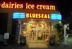 CONTRIBUTED BY LEEANN STEVENS  Today we decided to have dinner at Blue Seal. Blue Seal is well known for its delicious ice cream, but they also have really good dinner options!  My husband and I got burger combo meals (about 550Yen a la carte, 8 ...