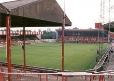 Central Park, looking towards the Whitbread Stand Childhood Days, Rugby League, Old Trafford, Area 51, World Of Sports, British Isles, Old Pictures, Central Park, Great Britain