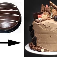 5 ways to dress up a Woolies/Coles mud cake. The family won't know what hit them! Lol