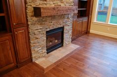 fireplace ledger stone