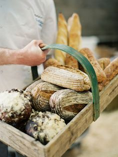 beautiful handmade bread
