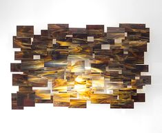 Cosmos by Karo Martirosyan: Art Glass Wall Sculpture available at www.artfulhome.com