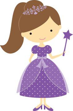 2014-08-24 - Duda Cavalcanti - Álbuns da web do Picasa Princess Cookies, Cute Clipart, Beautiful Drawings, Tampons, Princess Party, Princess Palace, Cute Illustration, Print And Cut, Paper Piecing