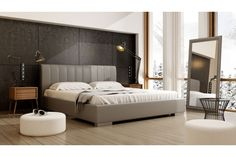 Modern Style Bedroom, Modern technology used in factories allowed easy manufacturing of all bedroom furniture styles. This way you can imagine any bedroom style that suits your modern life and ask a Bedroom Furniture, Bedroom Decor, Bedroom Ideas, Bedroom Bed, Bed Room, Bedroom Designs For Couples, Inspiration Design, Design Ideas, Design Styles