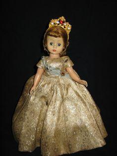 images of madame alexander dolls | Vintage Madame Alexander Cisette Doll Queen Elizabeth C.1957-1963 ...